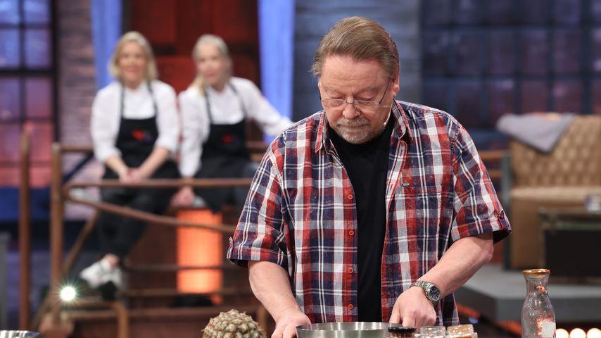 """Jürgen von der Lippe bei """"Grill den Henssler"""" 2021"""