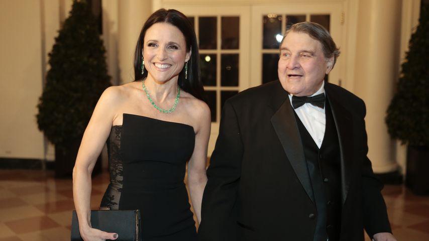 Julia und William Louis-Dreyfus beim US-Staatsbankett zu Ehren des französischen Präsidenten '14