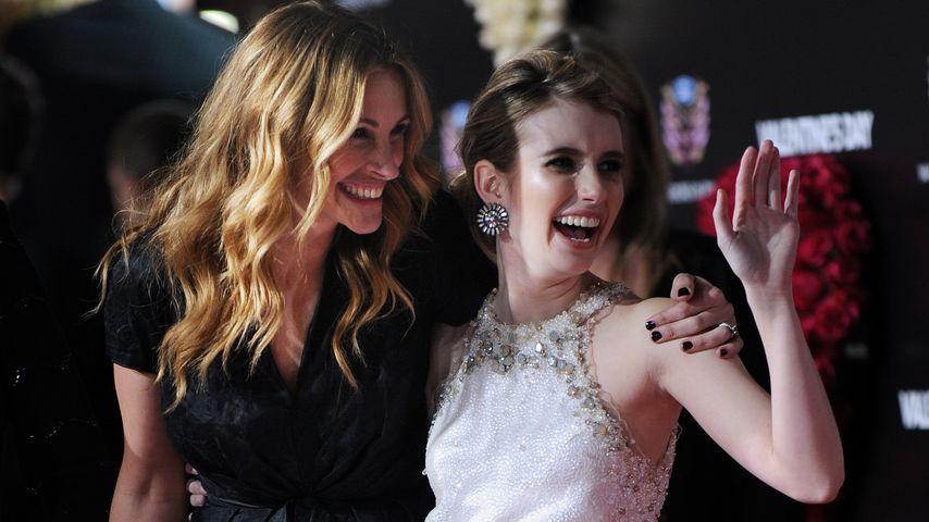 """Julia Roberts und Emma Roberts bei der Premiere von """"Valentinstag"""""""