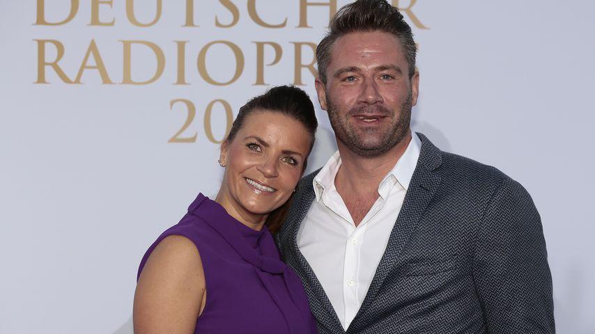Julia Röntgen mit Mann Sasha beim deutschen Radiopreis 2015