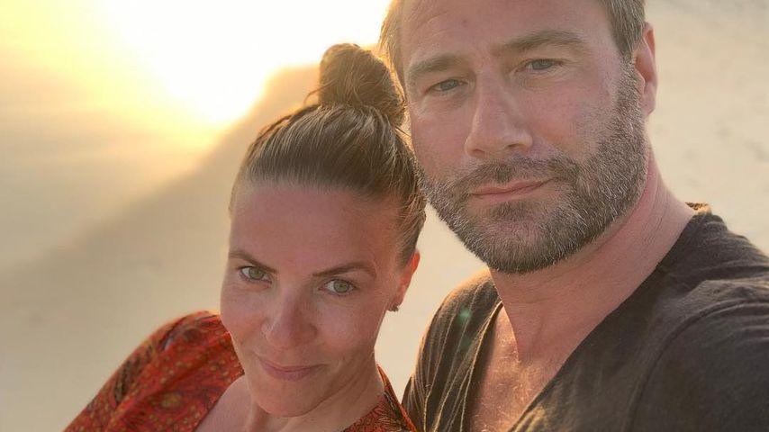 Julia Röntgen und Sasha mit ihrem Sohnemann
