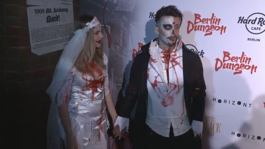 Brautpaar-Look an Halloween: Denkt Domenico ans Heiraten?