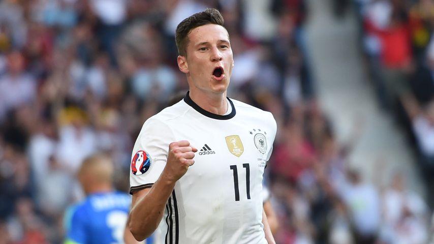 Julian Draxler beim EM-Spiel Deutschland gegen Slowakei