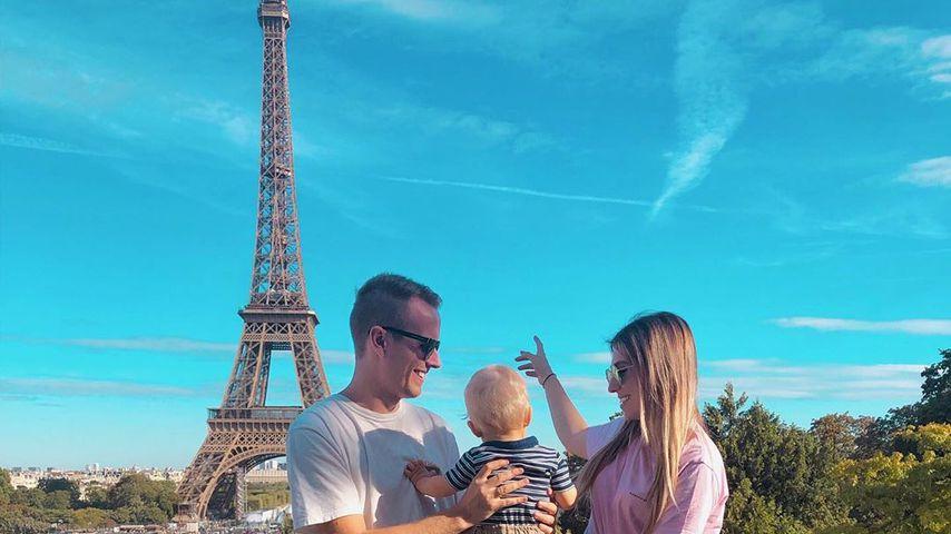 Mit Baby Lio: Julian und Bibi Claßen genießen Paris-Trip!