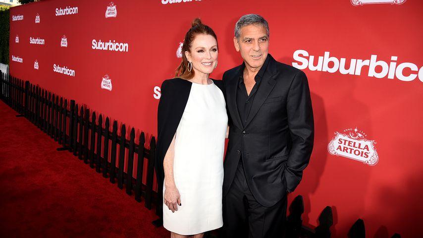 """Julianne Moore und George Clooney auf der Premiere ihres Films """"Suburbicon"""""""
