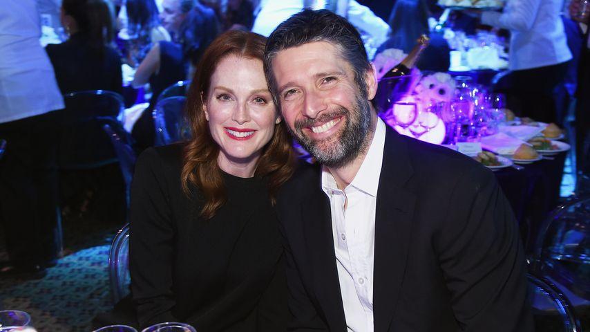 Julianne Moore und Bart Freundlich bei einer Gala in New York, April 2018