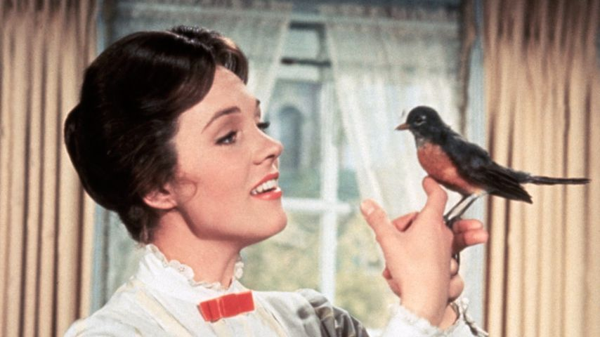 """Julie Andrews in """"Mary Poppins"""""""