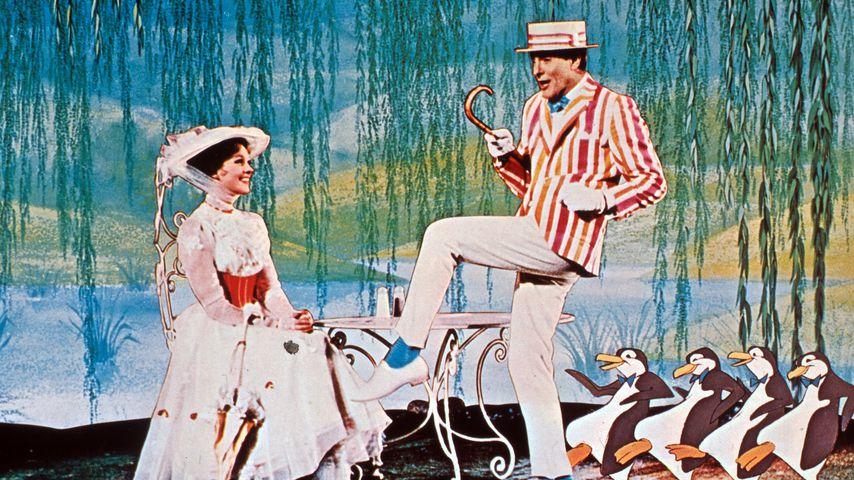 "Julie Andrews und Dick van Dyke in ""Mary Poppins"""