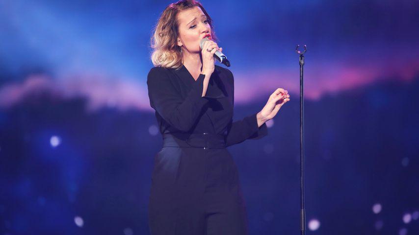 """Juliette Schoppmann in der Show """"Dieter Bohlen – Die Mega-Show"""""""