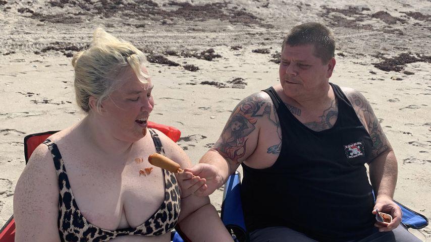June Shannon und ihr Freund Geno Doak im Juli 2020
