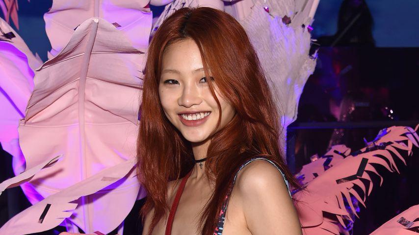 Jung Ho-yeon bei einer Marc-Jacobs-Fashionshow in New York, 2016