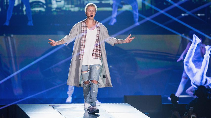 "Justin Bieber bei seiner ""Purpose World Tour"""