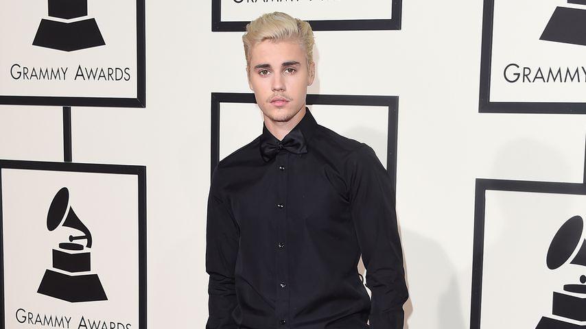 Justin Bieber bei der 58. Grammy-Verleihung 2016