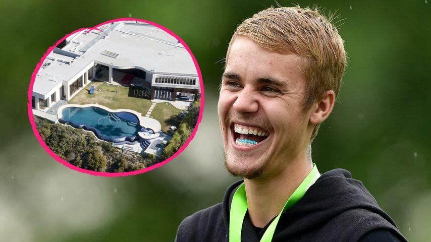 55.000$ pro Monat: Das ist Justin Biebers neu Protz-Villa