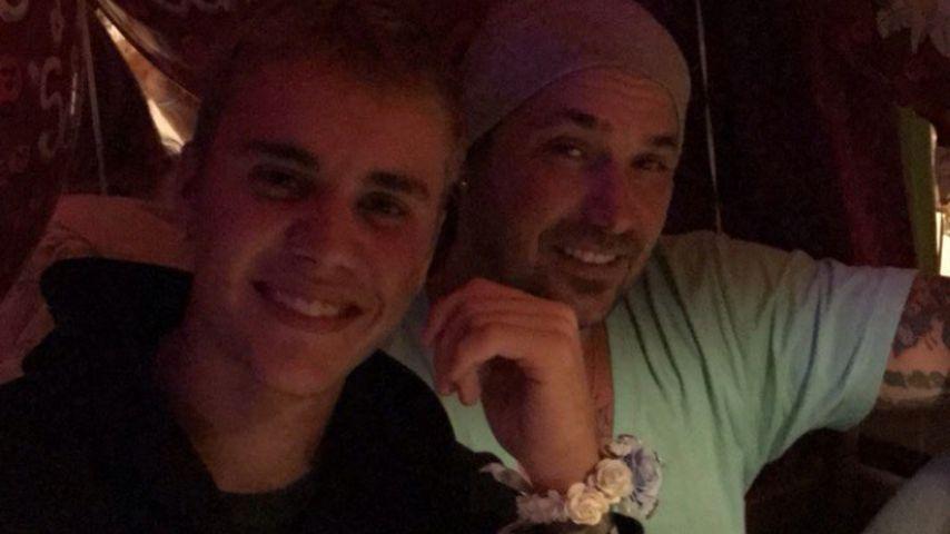 Justin Bieber mit John Shahidi auf dem Oktoberfest