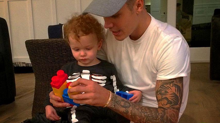 Berühmter Babysitter: Justin Bieber beweist Vater-Qualitäten