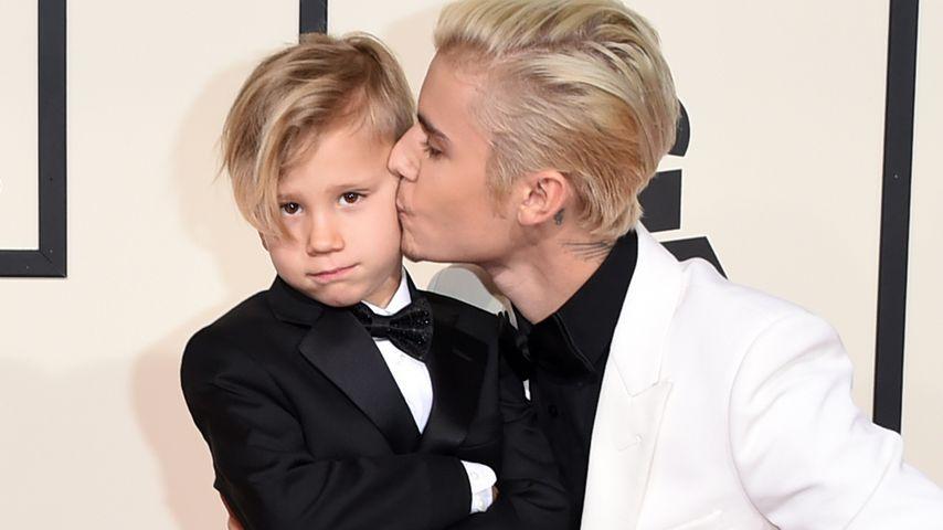 Soo süß: Tritt Jaxon Bieber so in die Fußstapfen von Justin?