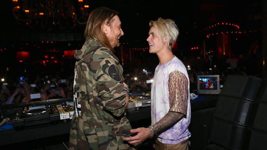 Justin Bieber und David Guetta