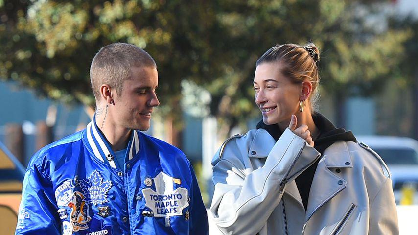 Justin Bieber und Hailey im November 2018