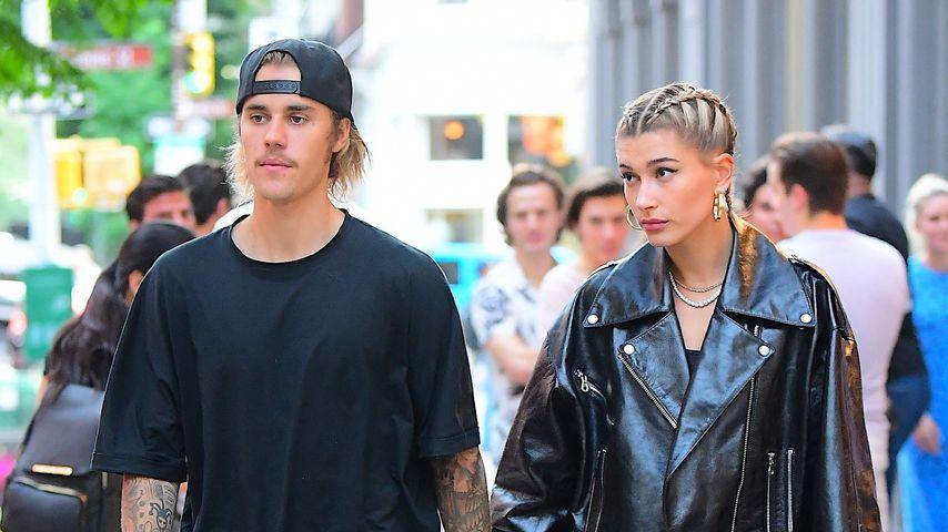 Justin Bieber und Hailey Baldwin in New York, Juni 2018