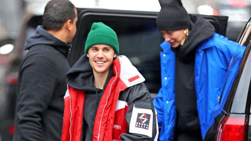 Justin Bieber und Hailey Bieber in New York