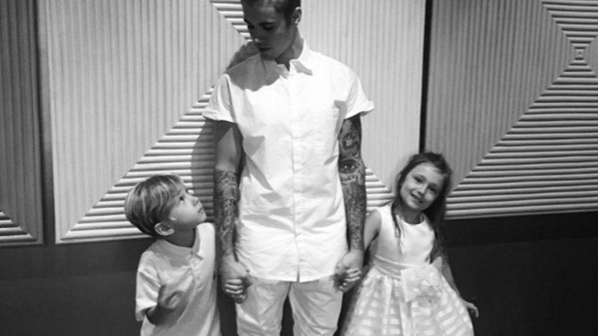 Justin Bieber emotional: So sehr liebt er seine Geschwister