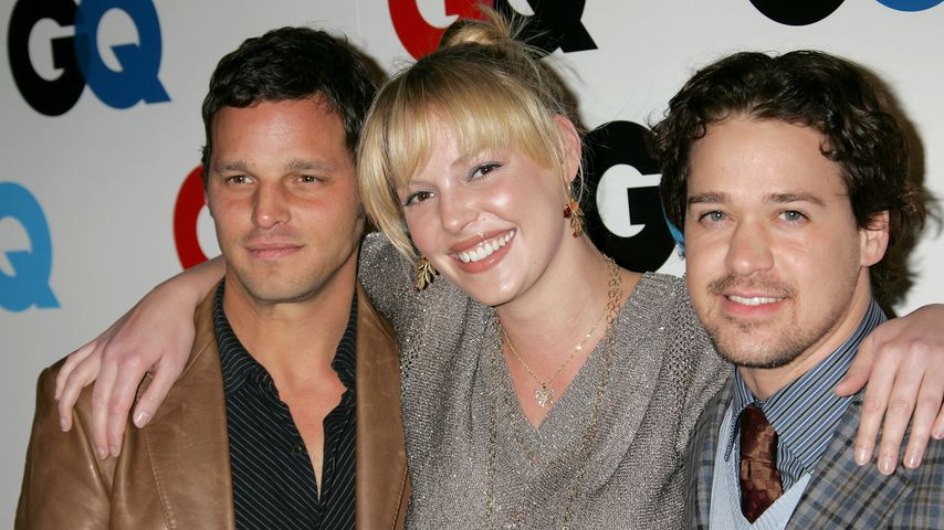 Justin Chambers, Katherine Heigl und T.R. Knight