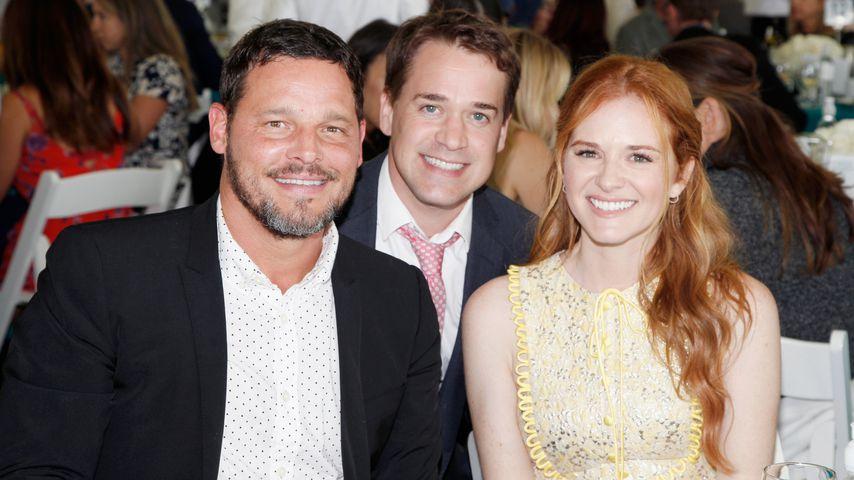 Justin Chambers, T. R. Knight und Sarah Drew