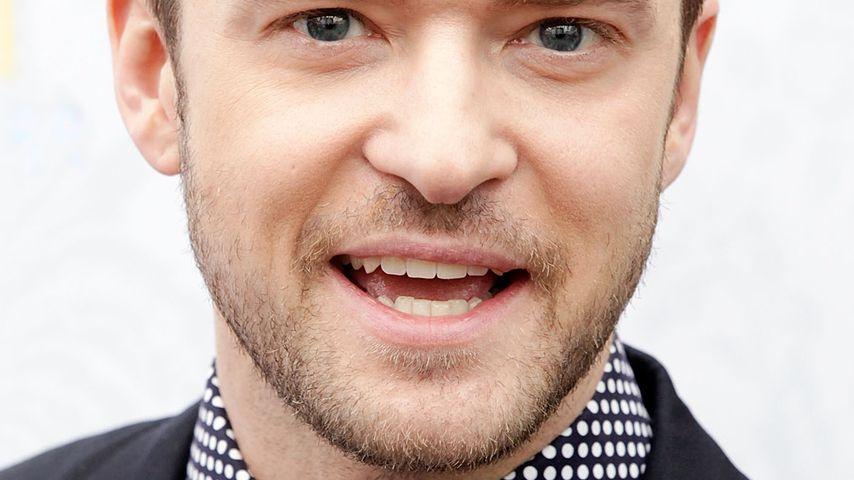 Justin Timberlake: Heiße Küsse mit Riley Keough