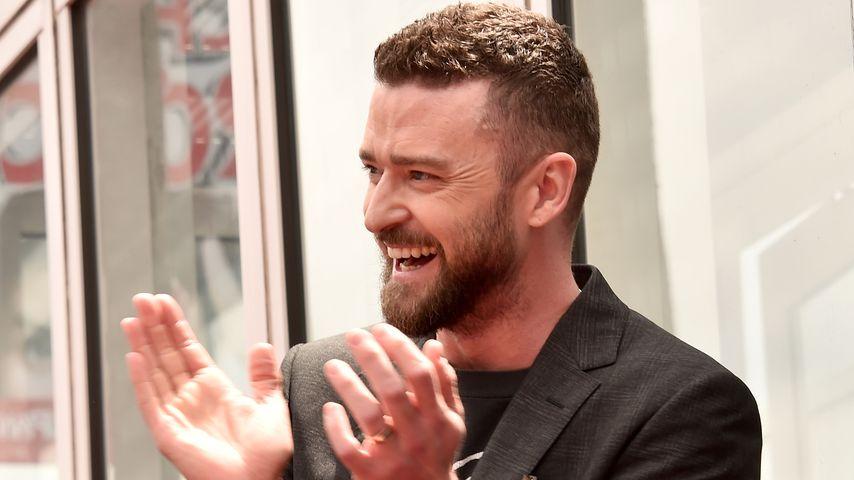 Justin Timberlake im April 2018