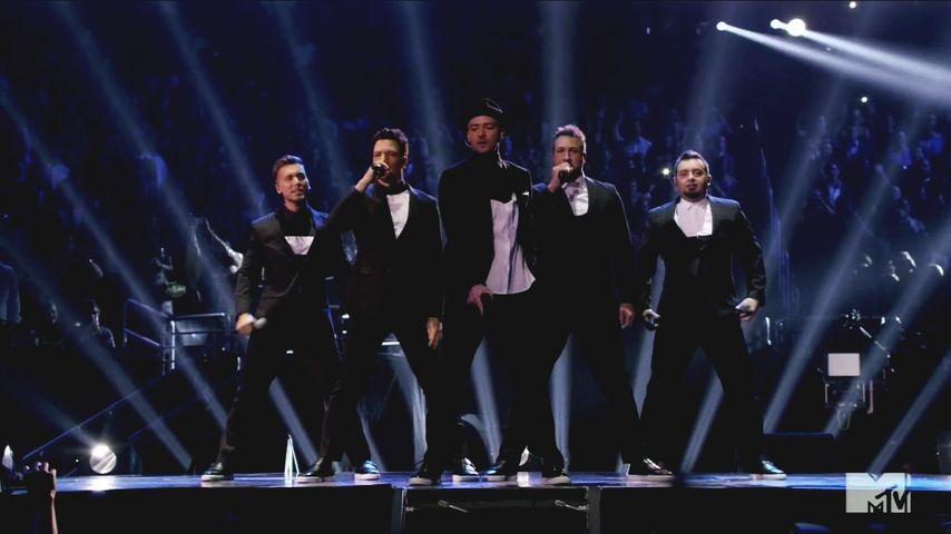 VMAs: So schön eskalierte das 'N Sync-Comeback