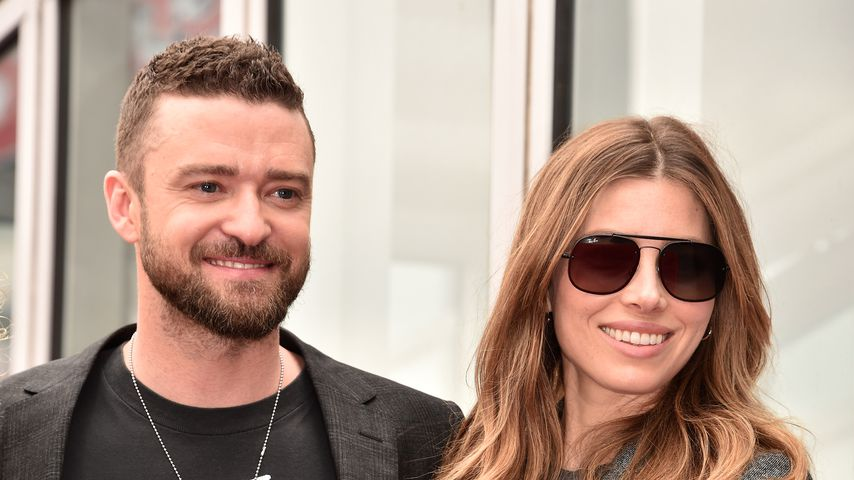 Justin Timberlake und Jessica Biel im April 2018 in Hollywood
