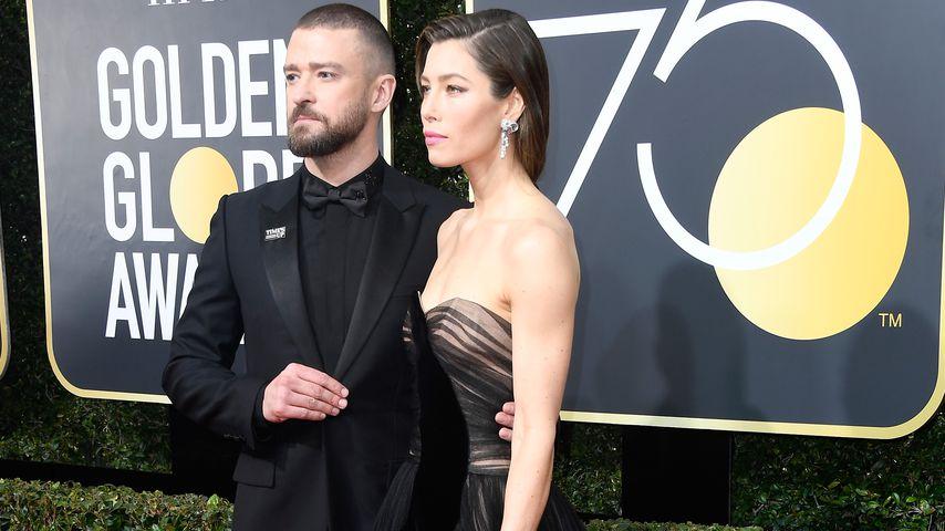 Justin Timberlake und Jessica Biel im Januar 2018 in Beverly Hills