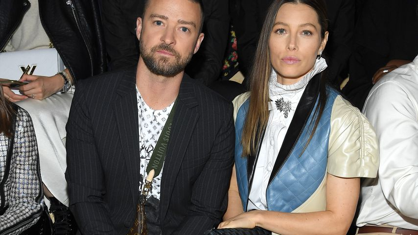 Justin Timberlake und Jessica Biel im Oktober 2019