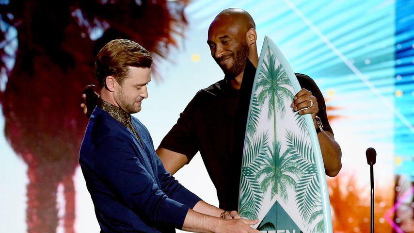 Justin Timberlake und Kobe Bryant 2016