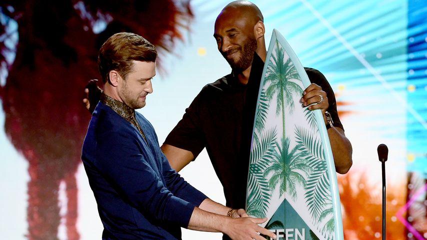Justin Timberlake und Kobe Bryant bei den Teen Choice Awards in Los Angeles