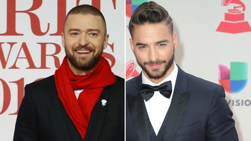 Kollabo mit Justin Timberlake? Maluma würde es sehr freuen!