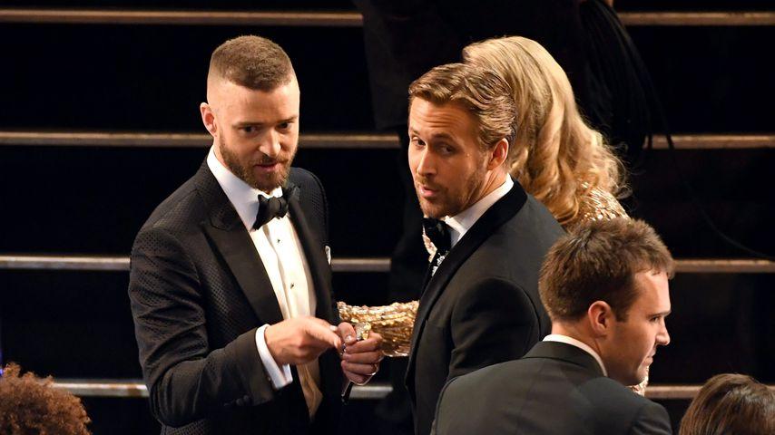Wieder Buddys? Reunion von Justin Timberlake & Ryan Gosling