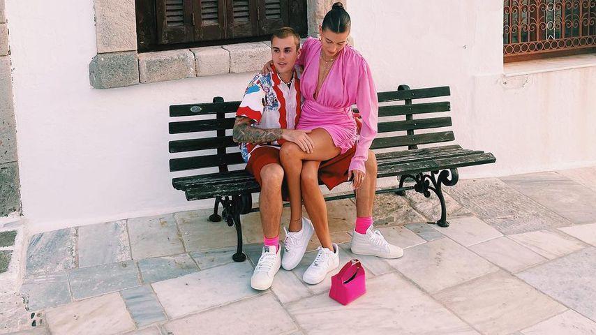 Justin und Hailey Bieber im Juni 2021