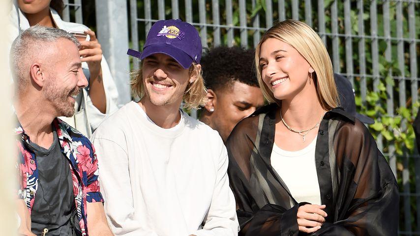 Justin und Hailey Bieber in New York