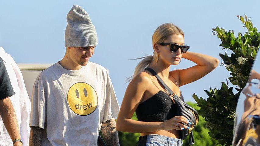 Justin und Hailey Bieber im August 2019 in Malibu