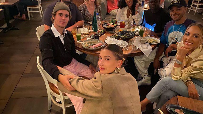 Justin & Hailey Bieber: Baby-Kracher! Ein Promi-Kollege packt aus