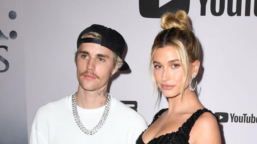 Justin und Hailey Bieber, 2020