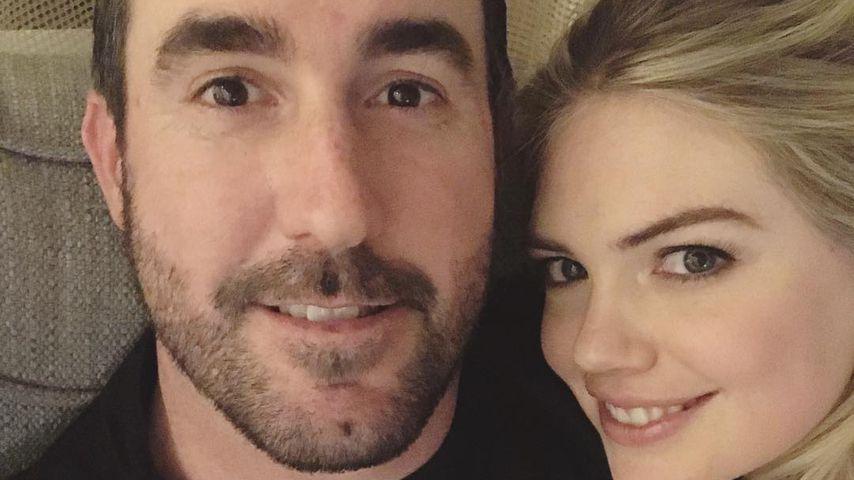 Justin Verlander und Kate Upton am Valentinstag 2019