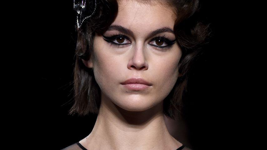 Kaia Gerber auf der Fashion Week Paris