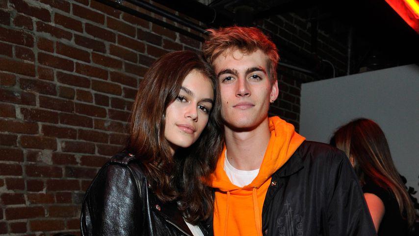 Kaia und Presley Gerber im März 2018
