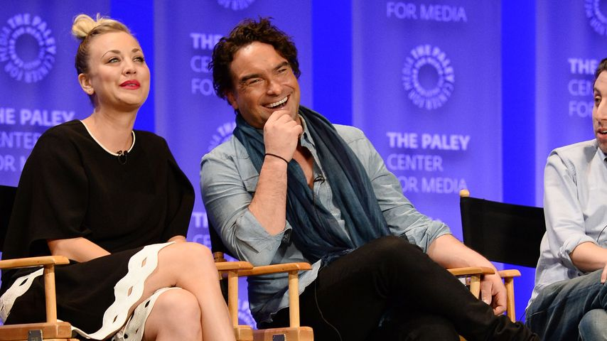 "Kaley Cuoco und Johnny Galecki auf dem ""Annual Paleyfest"" in Los Angeles"