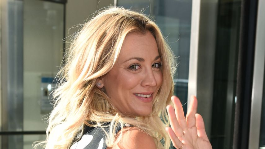 "Kaley Cuoco vor den ""CBS This Morning""-Studios in New York"