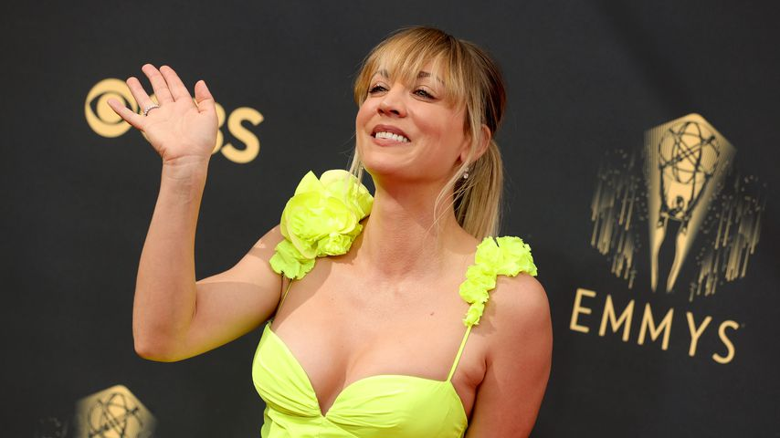 Kaley Cuoco bei den Emmy Awards in Los Angeles, September 2021