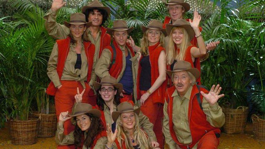 Kandidaten der ersten Dschungelcamp-Staffel